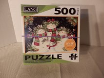 "500 pc puzzle ""Snowman Family"" in Naperville, Illinois"