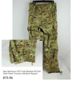 Soft shell cold weather pants in Fort Drum, New York