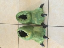 Dino house slippers in Ramstein, Germany
