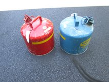 5 GALLON GAS CANS in Naperville, Illinois