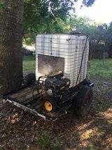 Dewalt pressure washer with trailer and 500 gallon tank in Beaufort, South Carolina