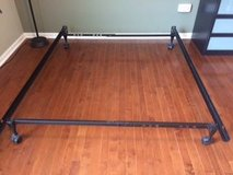 Full Size Metal Bed Frame in Naperville, Illinois