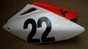 Honda CRF250R Side cover/number plate in Warner Robins, Georgia