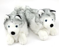 Husky house slippers for male or female in Fort Drum, New York