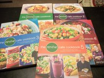 Revive Cafe' Cook Books Set of 5 in Fort Benning, Georgia