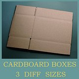 UNUSED BROWN STORAGE SHIPPING MOVING BOXES, 3 sizes in Lockport, Illinois