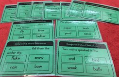 Compound Word Sentences Cards in Okinawa, Japan