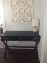 Desk, black stain finish in Aurora, Illinois