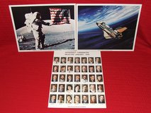 Vintage NASA Prints & Pamphlets Apollo 17 Sky Lab Shuttle +++ in St. Charles, Illinois