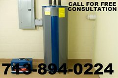 PROFESSIONAL PLUMBING SERVICES- WATER HEATER INSTALL in Pasadena, Texas