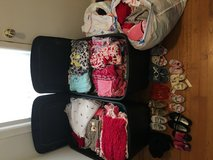 Lot of girl clothes infant to 3T and 11 pairs of shoes. in Fort Gordon, Georgia