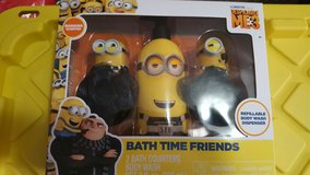 Despicable Me Bath Time Friends in Beaufort, South Carolina