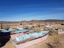 17 Free Fiberglass and wood row boats in Yucca Valley, California