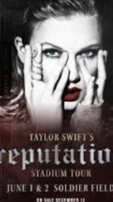 2 Taylor Swift Tickets in Chicago, Illinois