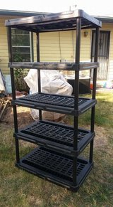 """Black adjustable stand 36x24"""" 71"""" tall $45 in Fort Riley, Kansas"""