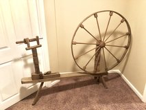 Antique spinning wheel in Fort Knox, Kentucky