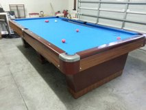10 ft Antique Pool Table in Cherry Point, North Carolina