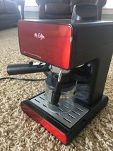Mr Coffee espresso maker and milk steamer in The Woodlands, Texas