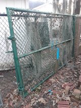 Two (2) 10' x 6' Coated Chain-link Fence Gates in Kingwood, Texas