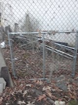One used 5' wide by 4' tall chainlink fence gate in Kingwood, Texas