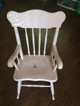 Childs pink rocking chair in Camp Pendleton, California