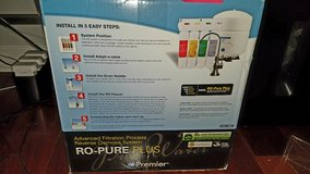 watts Premier RO PURE PLUS - REVERSE OSMOSIS SYSTEM in Naperville, Illinois