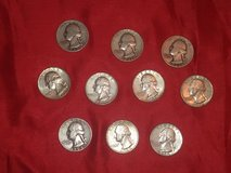 ten quarters 90 percent silver in Spring, Texas