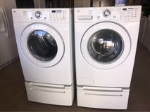 LG washer and dryer electric in Cleveland, Texas