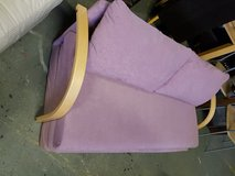 sofa bed in Sweden purple colour very good condition in Lakenheath, UK