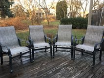 : ) Outdoor Patio Furniture >> !! Set of 4 Chairs in Naperville, Illinois
