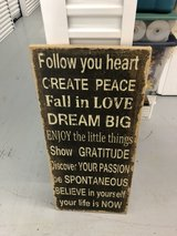 Canvas Sign in Baytown, Texas