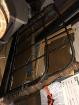 Full Size Bed Frame - Metal (IKEA) in Baytown, Texas