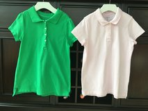Girls Golf / Polo Shirts from Lands End Size M (10-12) in Westmont, Illinois