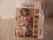 Brand New McCalls Pattern #M4990 Fat Quarters Stocking-Pillow-Garland-Ornaments in Yorkville, Illinois