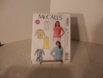 Brand New McCalls Pattern #M6927 Tops and Tunic Sizes 18W-24W in Joliet, Illinois