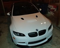 2011 BWM M3 (e92) Alpine White w/ Competition Package & fully loaded. USAA Extended warranty in Leesville, Louisiana