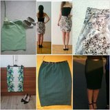 green skirts, flowery skirts in Ramstein, Germany