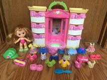 23 Piece Fisher Price Snap N Style Fashion Wardrobe etc. in St. Charles, Illinois