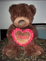 very large Valentine's Day bear in Wright-Patterson AFB, Ohio