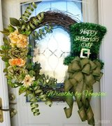 St. Patrick's Day Wreath in Fort Hood, Texas