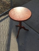 """Small table 15x15"""" 24.5"""" tall in Fort Riley, Kansas"""