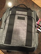 Swiss Gear Heather gray / black backpack tote in Baytown, Texas