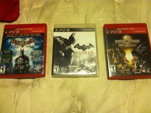 3 ps3 games in Fort Campbell, Kentucky