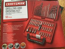 Craftsman 50 piece bit and driver set in Fort Knox, Kentucky