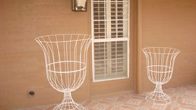 Two large wire Goblet/ in or outdoor decor in Fort Bliss, Texas