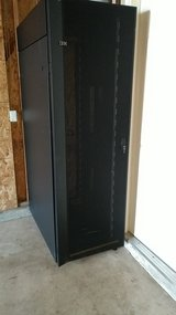 IBM server racks, model 7014/42U in Camp Pendleton, California