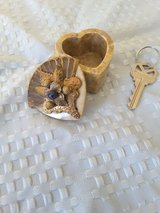Jo Marz Collectible Heartshape Soap Stone Ring Box/Trinket in Indianapolis, Indiana