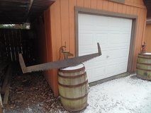 ANTIQUE 2 MAN SAW in Lockport, Illinois