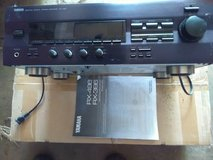 Stereo receiver and speakers in Aurora, Illinois