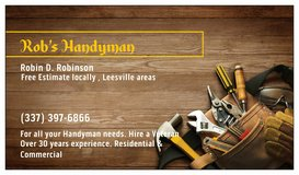 Rob's Handyman in Fort Polk, Louisiana